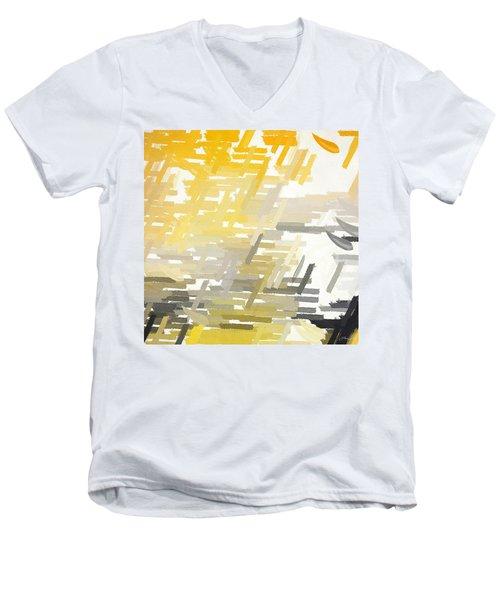 Bright Slashes Men's V-Neck T-Shirt
