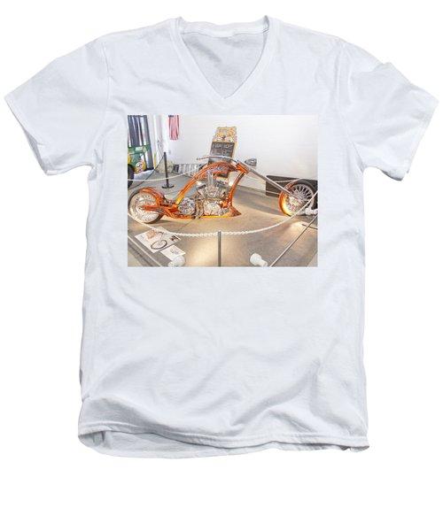 Bronze Beauty Men's V-Neck T-Shirt