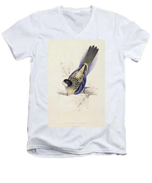 Browns Parakeet Men's V-Neck T-Shirt