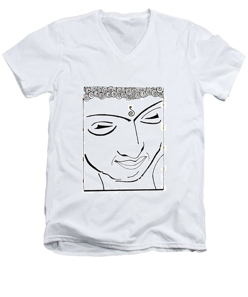 Buddha Xiv Men's V-Neck T-Shirt