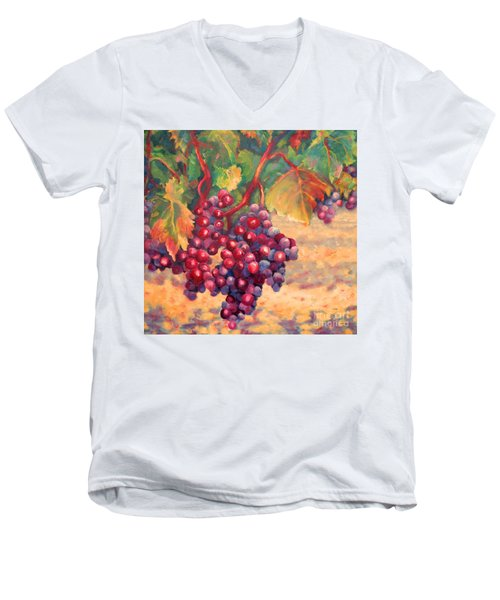 Bunch Of Grapes Men's V-Neck T-Shirt