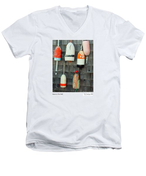 Buoys On The Wall Men's V-Neck T-Shirt