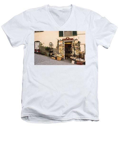 Burasca Shop Of Manarola Men's V-Neck T-Shirt