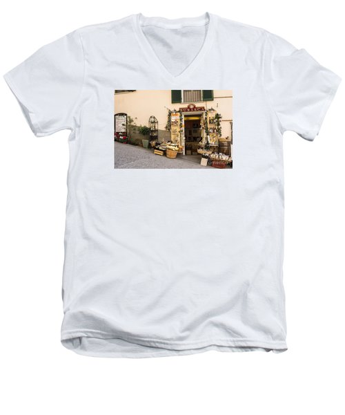 Burasca Shop Of Manarola Men's V-Neck T-Shirt