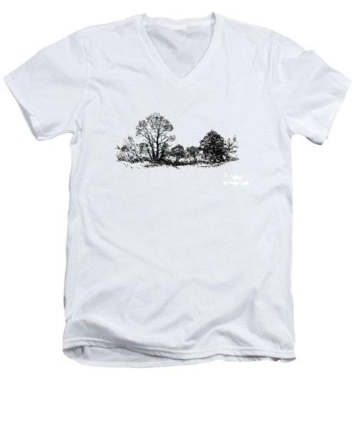 Bushes Men's V-Neck T-Shirt