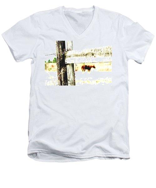 But Not Forgotten Men's V-Neck T-Shirt