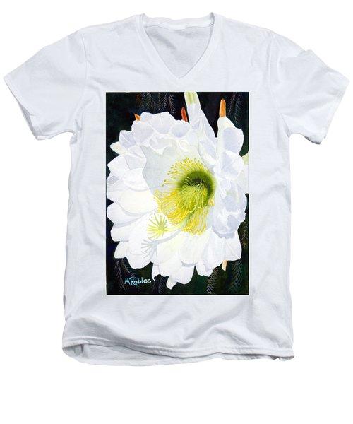 Cactus Flower II Men's V-Neck T-Shirt