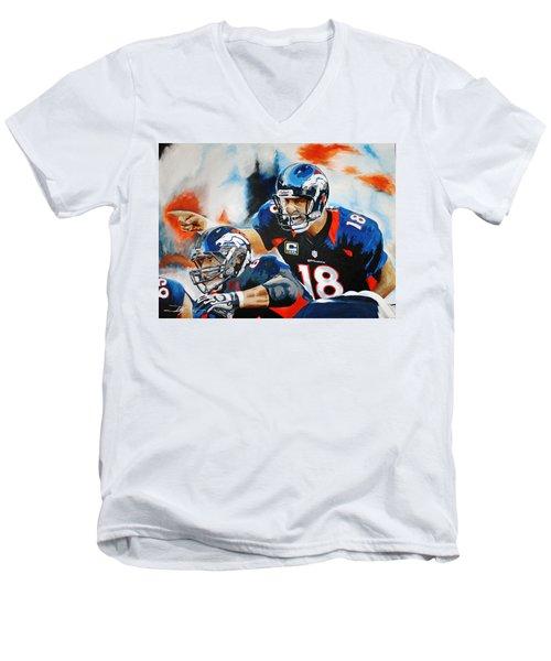Peyton Manning Men's V-Neck T-Shirt
