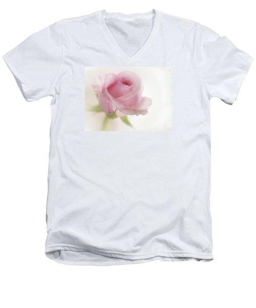 Candy Floss Men's V-Neck T-Shirt by Morag Bates