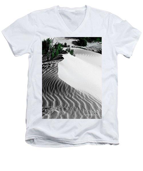 Cape Le Grande Sand Dune Men's V-Neck T-Shirt