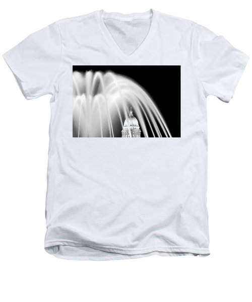 Capitol Fountain Men's V-Neck T-Shirt