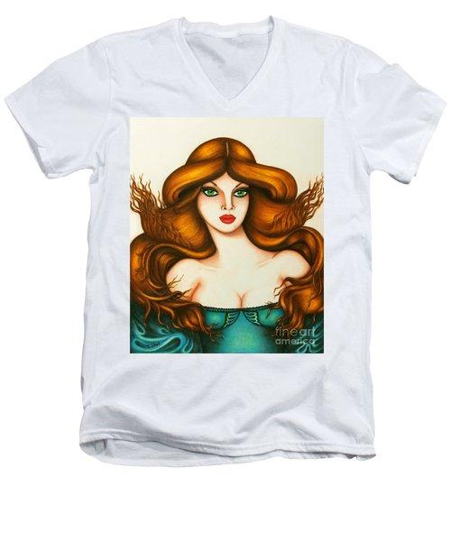 Caprice Men's V-Neck T-Shirt
