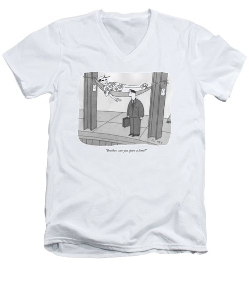 Caption Contest 210 - Winner Men's V-Neck T-Shirt