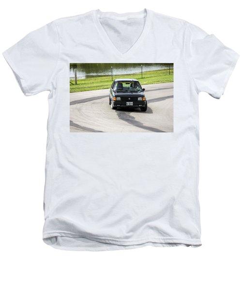 Car No. 76 - 02 Men's V-Neck T-Shirt
