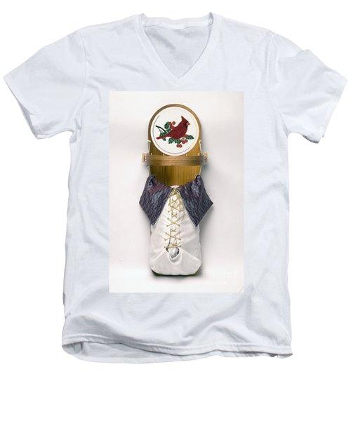 Cardinal Cradleboard Men's V-Neck T-Shirt