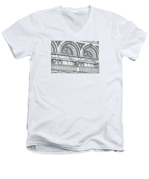 Carnegie Hall Men's V-Neck T-Shirt
