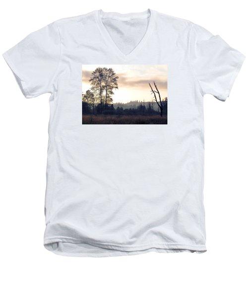 Men's V-Neck T-Shirt featuring the photograph Carpe Diem by I'ina Van Lawick