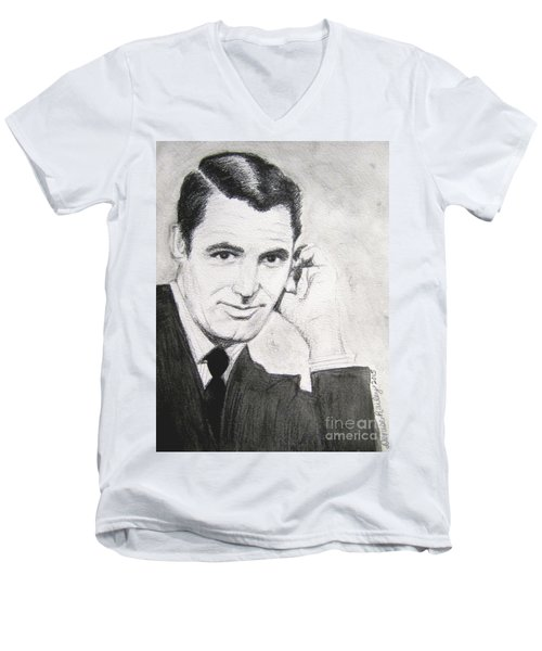 Cary Grant Men's V-Neck T-Shirt