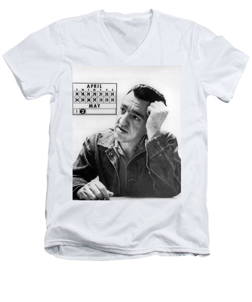 Caryl Chessman Men's V-Neck T-Shirt