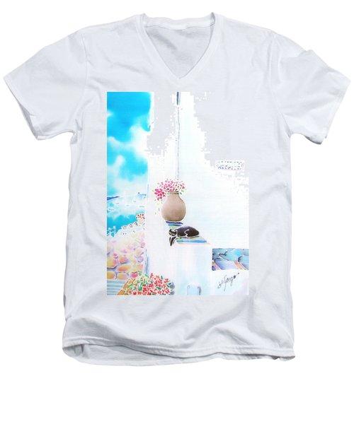 Casa Blanca Men's V-Neck T-Shirt