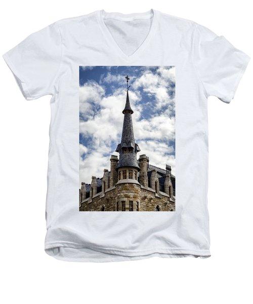 Casa Botines Men's V-Neck T-Shirt