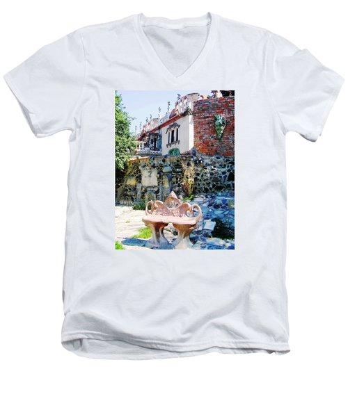Casa Golovan Men's V-Neck T-Shirt by Oleg Zavarzin