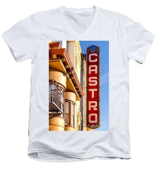 Castro Men's V-Neck T-Shirt