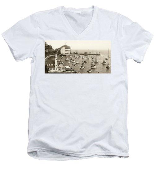 Catalina Island. Avalon Men's V-Neck T-Shirt