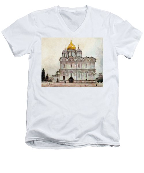 Cathedral Of The Archangel Men's V-Neck T-Shirt