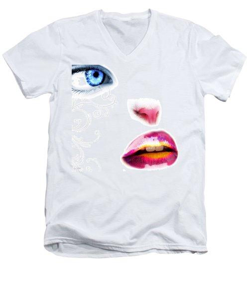 Catwoman Men's V-Neck T-Shirt