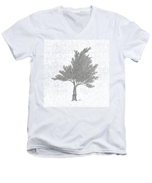 Cedar Men's V-Neck T-Shirt