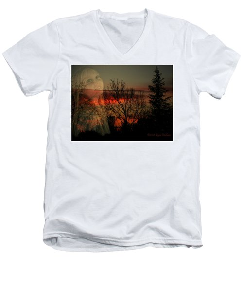 Men's V-Neck T-Shirt featuring the photograph Celebrate Life by Joyce Dickens