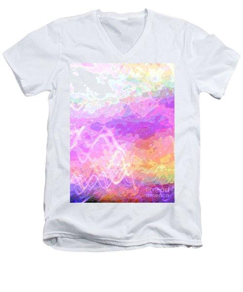 Celeritas 45 Men's V-Neck T-Shirt