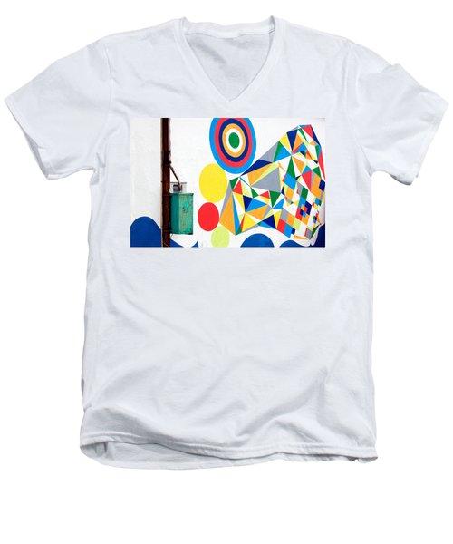 Chaordicolors Men's V-Neck T-Shirt