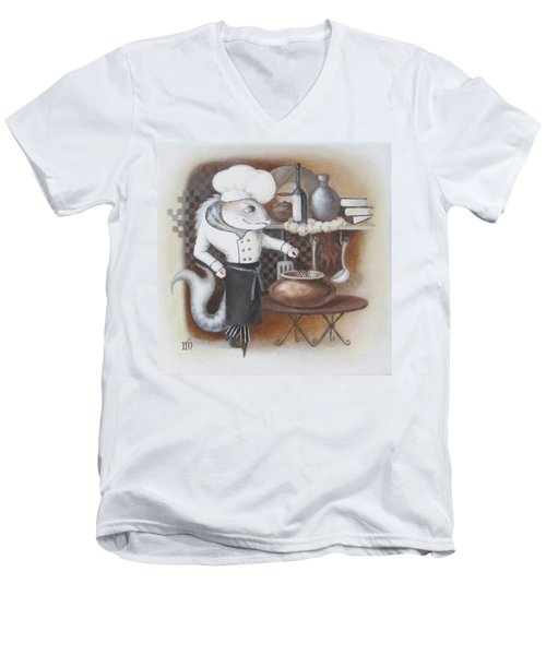 Chef Men's V-Neck T-Shirt