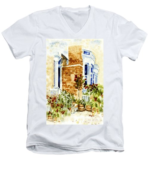 Chelsea Row Men's V-Neck T-Shirt