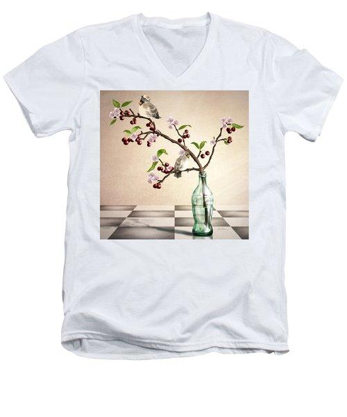 Cherry Coke Men's V-Neck T-Shirt