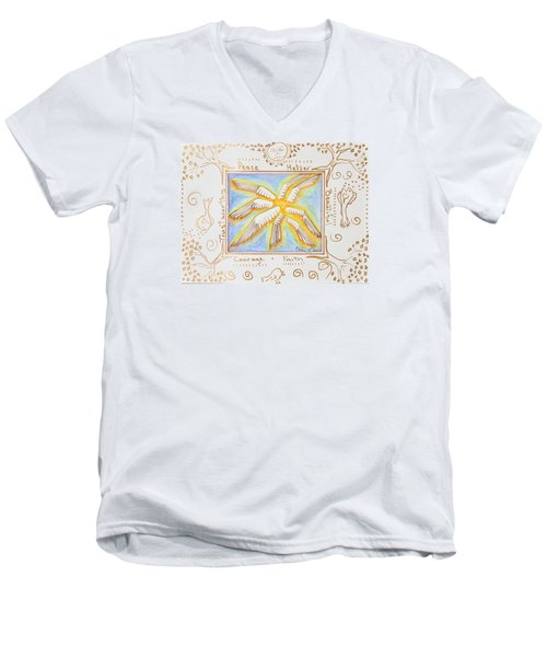 Cherubim Men's V-Neck T-Shirt
