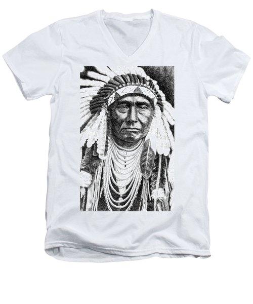 Chief-joseph Men's V-Neck T-Shirt