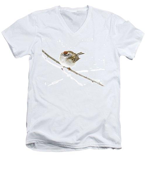 Chip Men's V-Neck T-Shirt