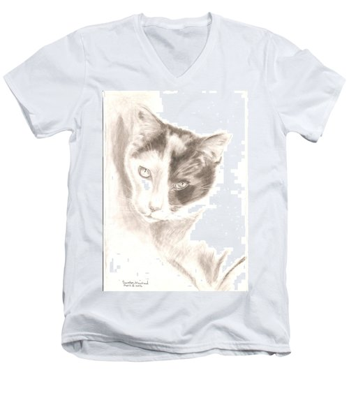 Chopin Men's V-Neck T-Shirt