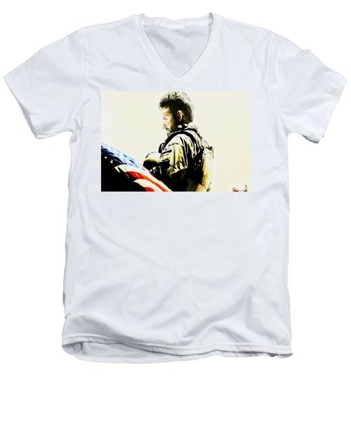 Chris Kyle Men's V-Neck T-Shirt