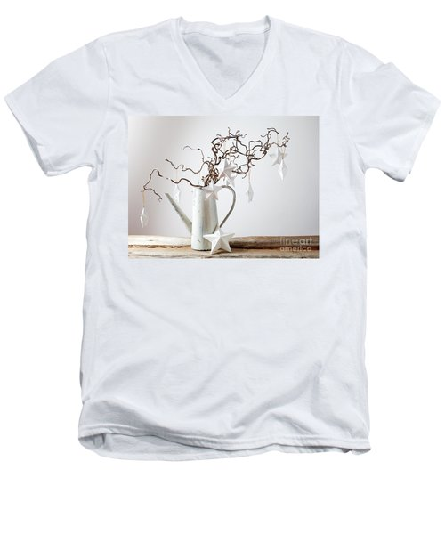 Christmas Decorarion Men's V-Neck T-Shirt
