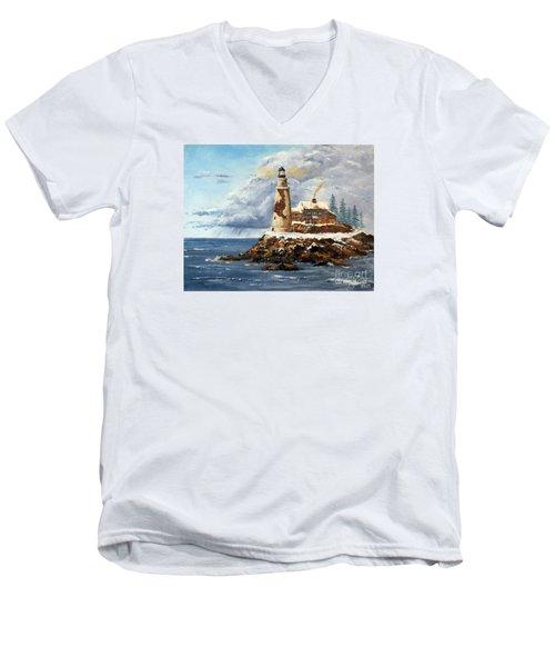 Christmas Island Men's V-Neck T-Shirt