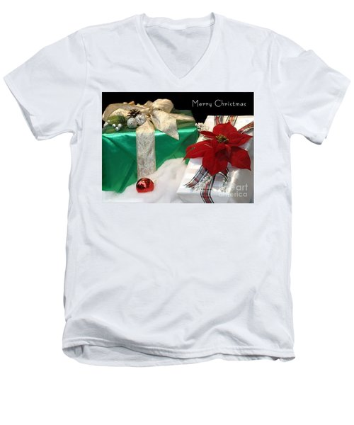 Christmas Presents Men's V-Neck T-Shirt