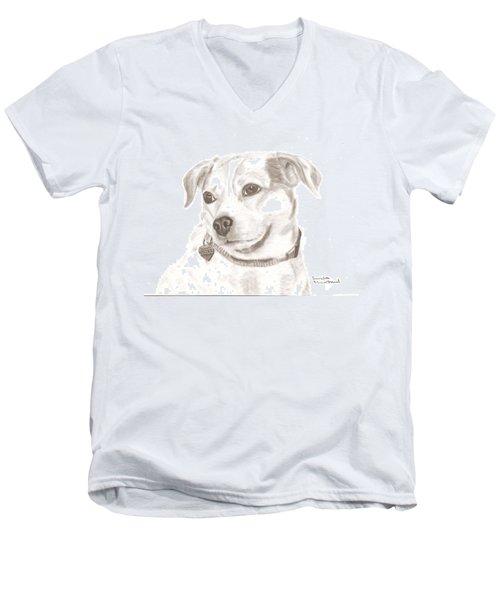 Cille  Men's V-Neck T-Shirt