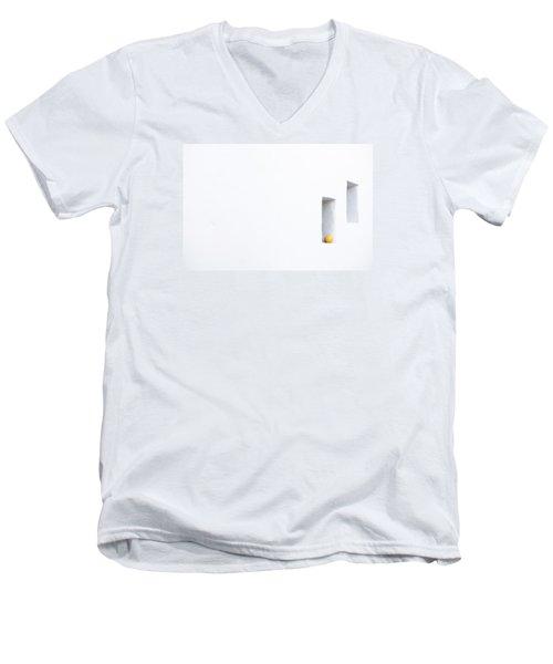 Citrus Simplicity Men's V-Neck T-Shirt