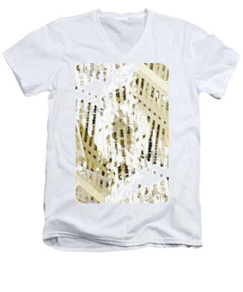 City 3 Men's V-Neck T-Shirt