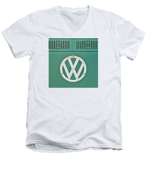 Classic Car 8 Men's V-Neck T-Shirt by Art Block Collections