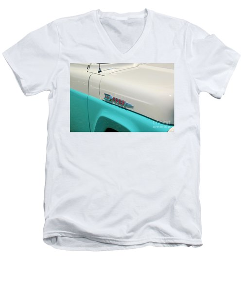 Classic Ford Men's V-Neck T-Shirt by Patrick Shupert